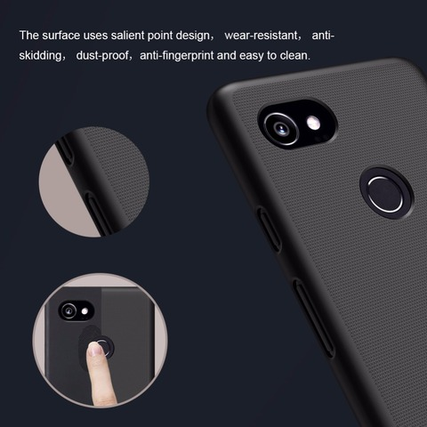Google Pixel 2 case Google Pixel 2 XL cover NILLKIN Super Frosted Shield matte hard back cover Karachi