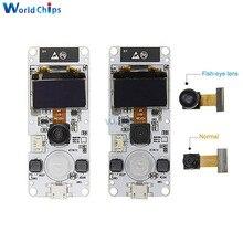 Двухъядерный модуль камеры ESP32 Cam ESP32 OV2640, программируемый PSRAM WIFI 0,96 дюйма OLED SSD1306 I2C BME280, сенсорный модуль CP2104 для Arduino