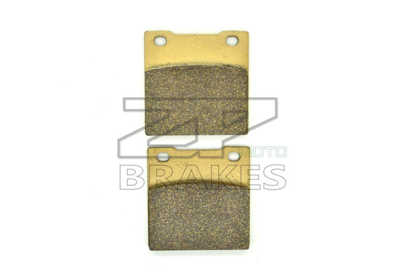 New Brand Organic Brake Pads Fit Rear KAWASAKI ZZR 1100 (ZXT10D/G203) 1997-2001 ZX-7R 750 Ninja 1989-1995 Motorcycle BRAKING OEM