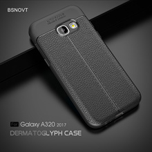 For Samsung Galaxy A3 2017 Case Soft TPU Silicone Anti-knock Cover A320