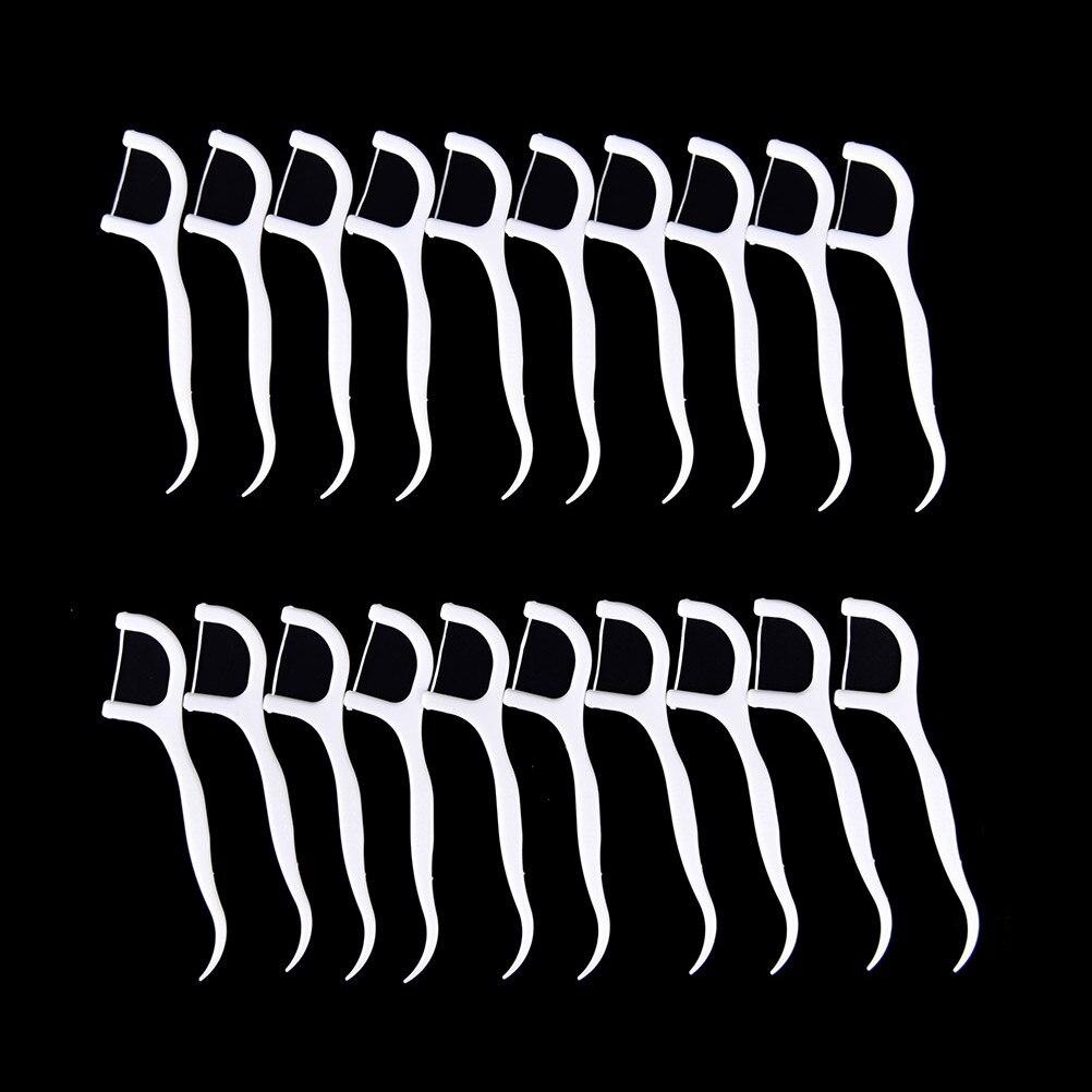 20Pcs Dental Flosser Dental Care Interdental Brush One Set Equipment Teeth Whitening High Quality