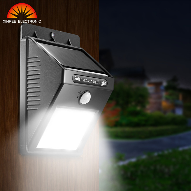 6 10 20 LED Solar Light with PIR Motion Sensor Lamp IP65 Waterproof Outdoor Garden Solar