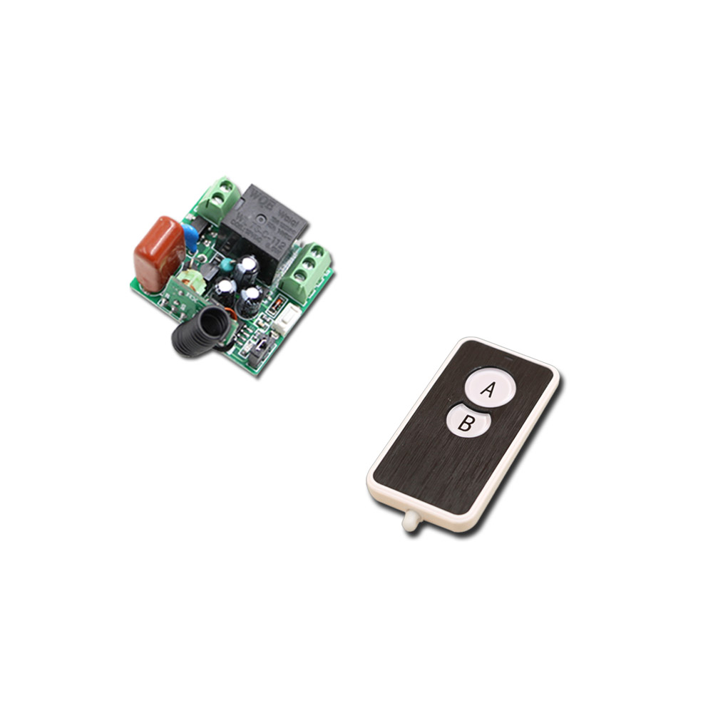 Best Price AC 220 V 1CH Wireless Remote Control Switch System Mini Relay Receiver Transmitter 2 Buttons Remote 315mhz/433.92mhz