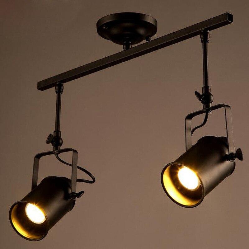 Buy Pendant Track Lighting: Aliexpress.com : Buy Nordic Retro Loft Track Light RH