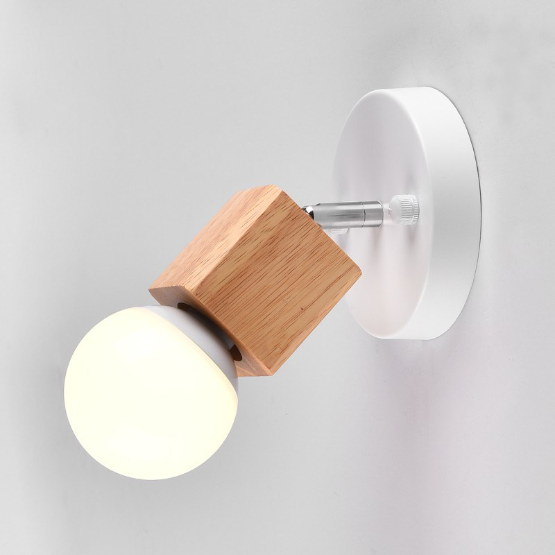 Heerlijk Moderne Houten Glans Plafondlamp Creatieve Loft Led Lamp Doek Winkel Koffie Bar Lichtbalk Achtergrond Plafond Lamp Ac110-260v Non-Strijkservice