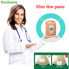 40Pcs Chinese Herbal Slimming Patch Navel Stick Patch Weight Loss Fat Burning Plaster Nave