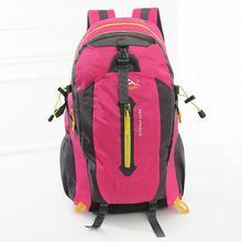 New Men and Women Outdoor climbing bag waterproof nylon backpack shoulders camping leisure sports bag rucksack