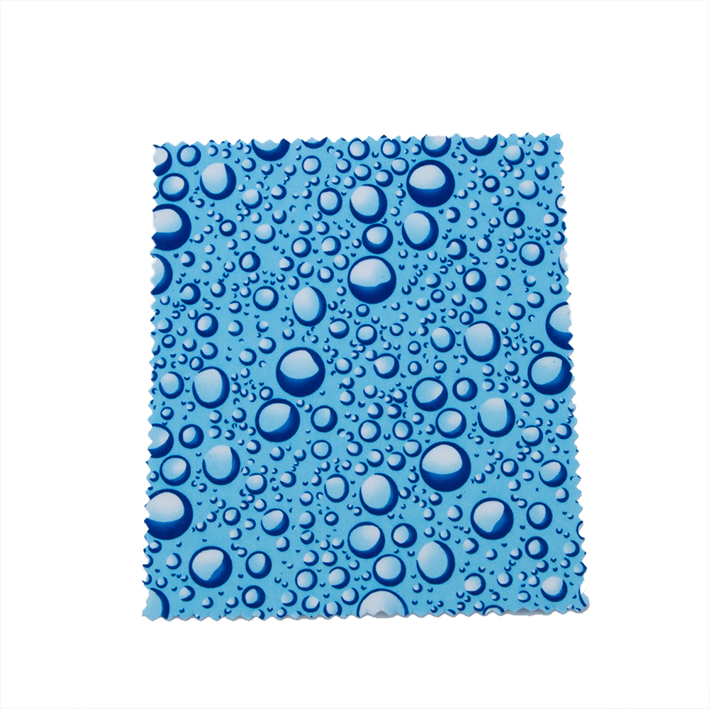Microfiber Cleaning Cloth Pattern: 10 Pcs Microfiber Water Drops Pattern Glasses Cleaning
