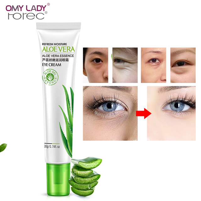ROREC Moisurizing Eye Serum Anti for Dark Circles Puffiness Wrinkles And Bags Most Effective Anti-Aging Eye Cream For Eyes