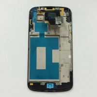 LCD Display Panel Black Touch Screen Digitizer Assembly Frame For LG Google Nexus 4 E960