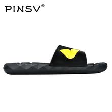 PINSV Flip-Flops Mens Summer Sandals Men Shoes Fen Beach Slippers For Men Sandals Size 40-45 Zapatos Hombre