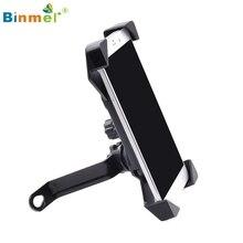 Binmer High Quality Universal Motorcycle MTB Bike Bicycle Handlebar Mount Holder For Phone GPS Oct21 Drop Shipping MotherLander