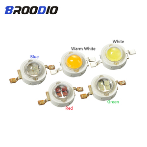 5pcs LED Lamp Lighting LEDs Bulb Chip Diode 5W Cool Warm White Red Green Blue Bright Lampada 5Watt LED DIY Flood Light Spotlight