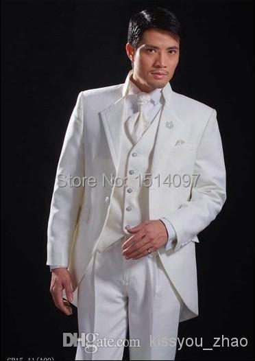 0f1d4fc33562 Top Selling New Prince Beige Mens Suits Tuxedos Wedding One Button Notch  Lapel Tuxedos Bridal Groom Suits Summer Beach Wedding S