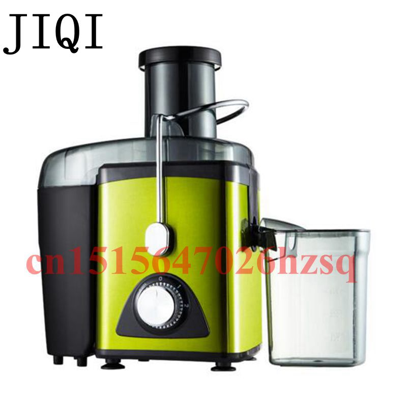 JIQI 600ml Mini Large diameter juice extractor Automatic juice machine Household 400W Baby feeder machine