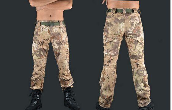 ФОТО Military army pants Rattlesnake python shooter pants climbing pants tactical field training pants casual