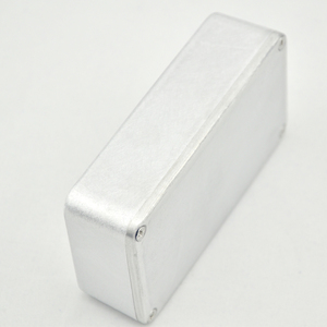 Image 5 - 5 Pçs/lote 1590B/Estilo Guitar Effects Pedal Alumínio Stomp Box Caixa para DIY Kit Pedal de Guitarra