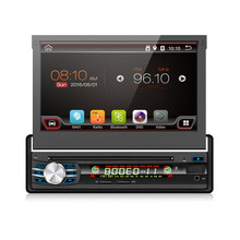 1 Din Android Car Multimedia Auto Radio DVD Player GPS Navigation With 7″ Touch Screen Detachable Panel Support WIFI MIRROR LINK