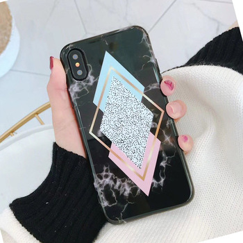 Marble iPhone X Case Ultra Slim Thin TPU Soft Rubber Silicone Cover Phone