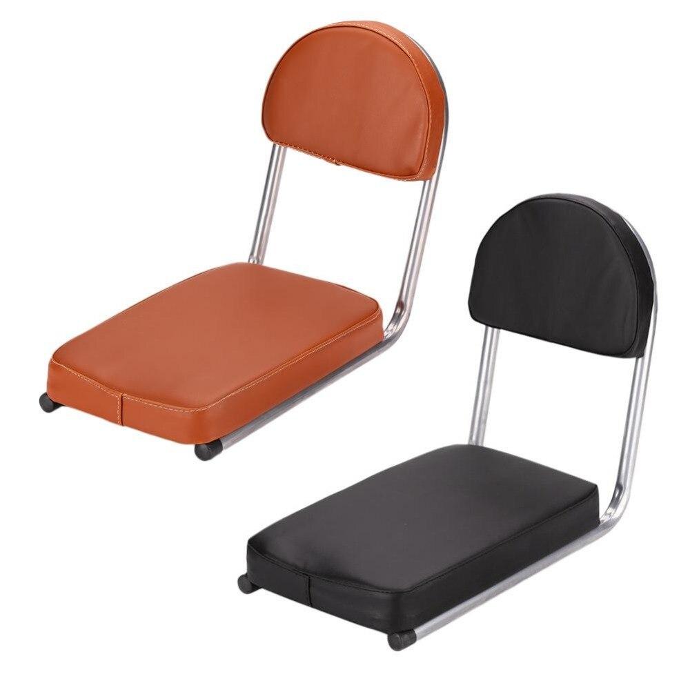 EYCI Back Seat Cushion Mountain Bike Shelves Thickening PU Leather Child Safety