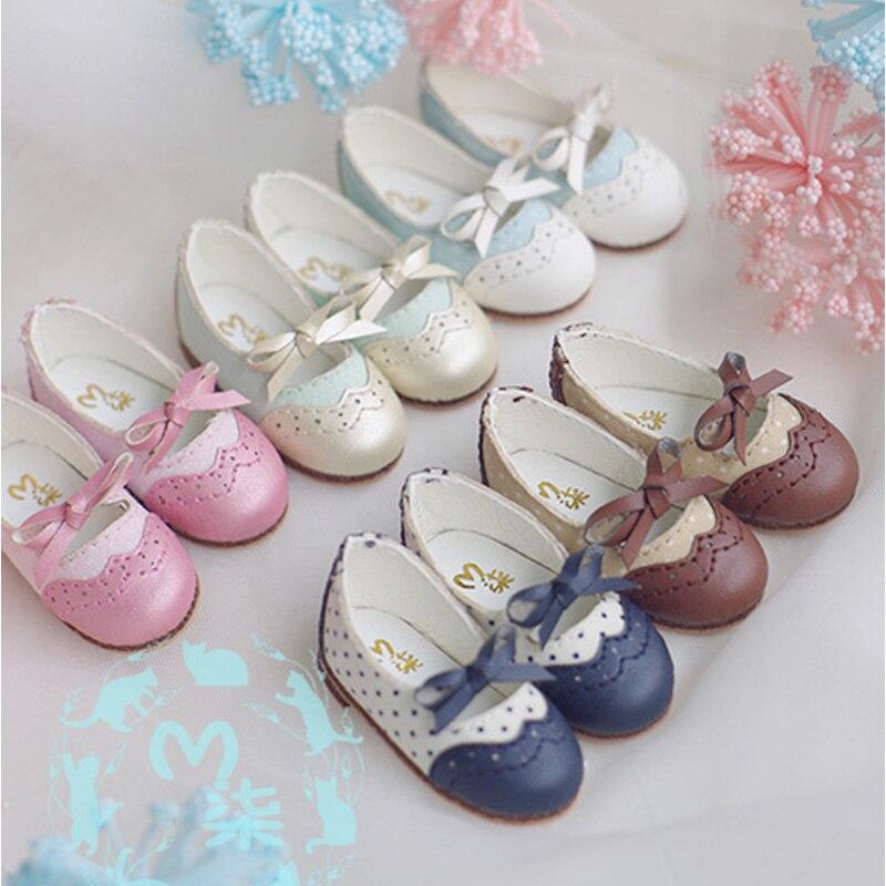 1Pair Retail Dolls Accessories SD YOSD 1/6 BJD Doll Shoes