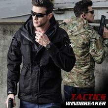 Зимняя водонепроницаемая теплая ветровка M65 US, осенняя куртка пилота с капюшоном, теплая военная куртка