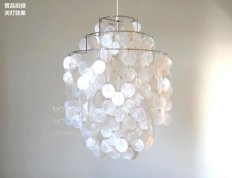 Korean pastoral rice white shell chandelier japanese modern korean pastoral rice white shell chandelier japanese modern minimalist creative personality fashion restaurant bar lighting in pendant lights from lights mozeypictures Choice Image