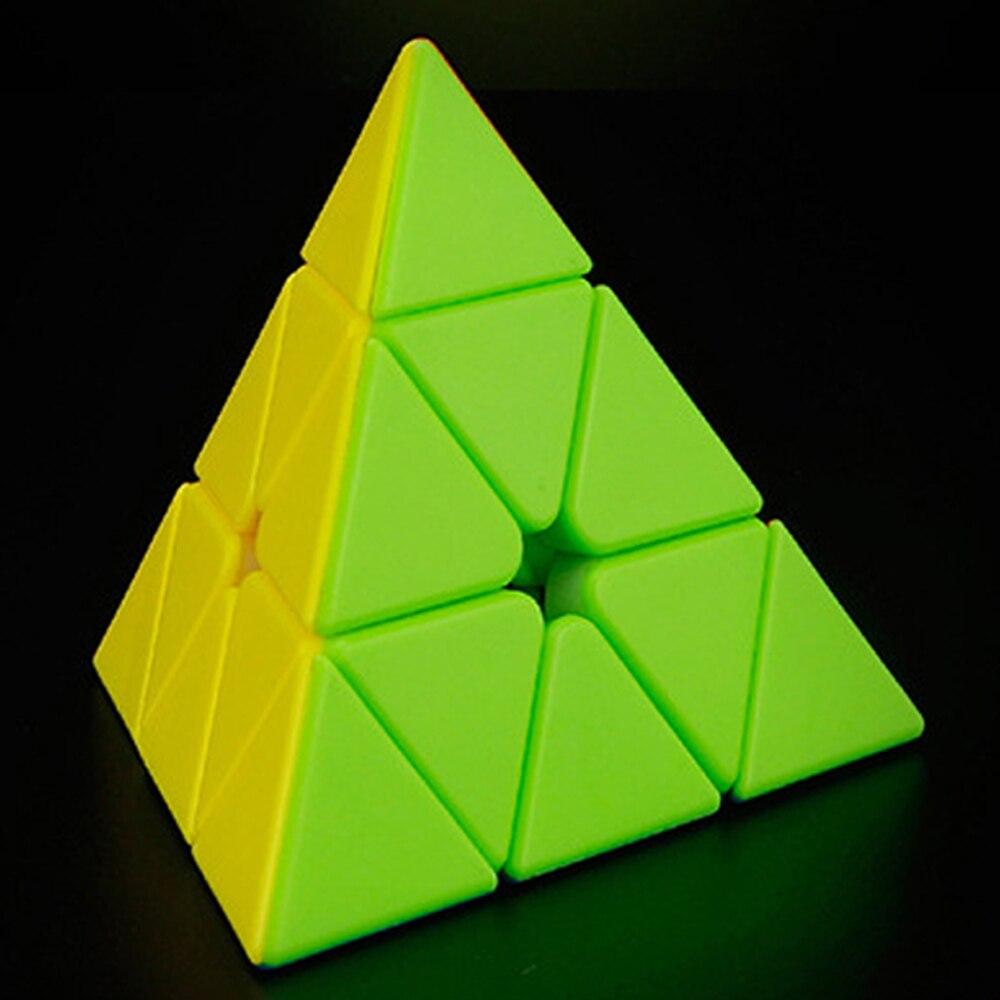 MoYu professionnel pyramide magnétique Triangle 3x3x3 Cubes magiques 3 couches Cube 3*3*3 Puzzle jouet pour enfants Cubo Megico
