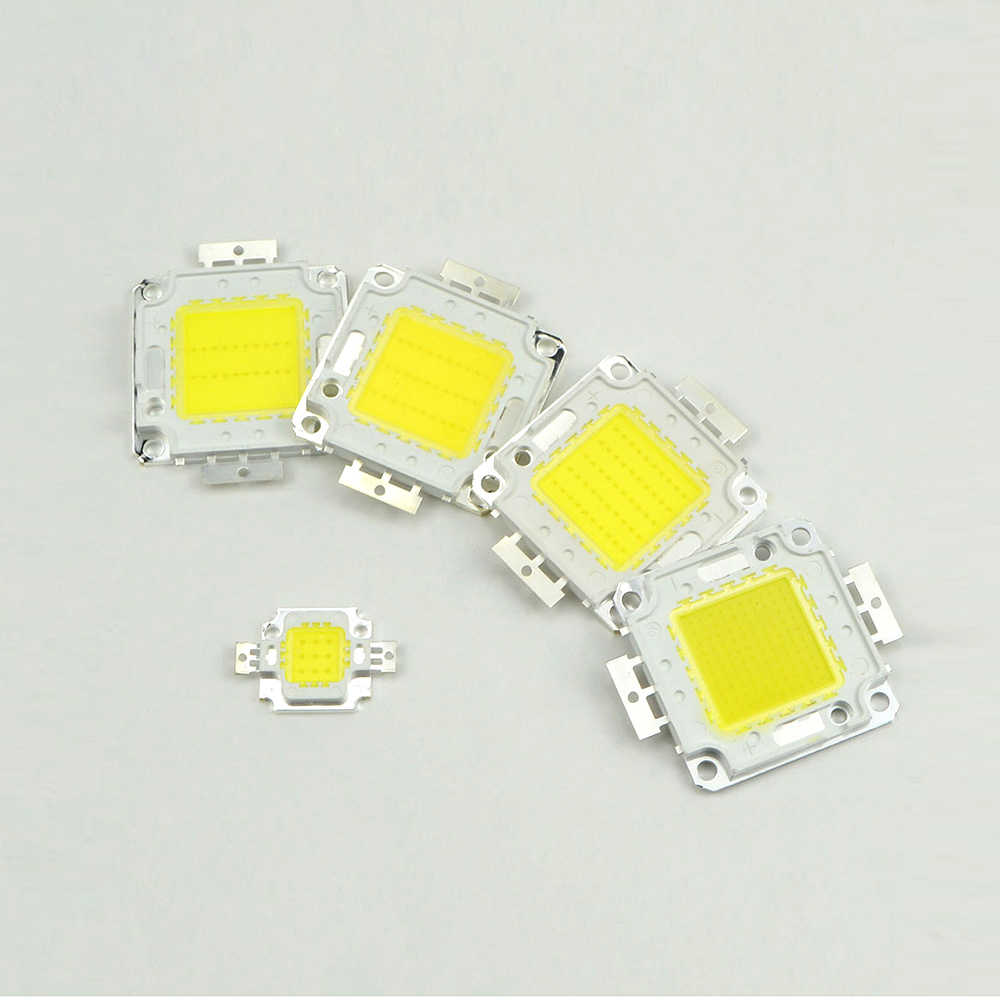 High Power 10w 20w 30w 50w 100w Led bulb Chip Lamp uper Bright Floodlight Spot light Source DIY Garden Square Street Lighting