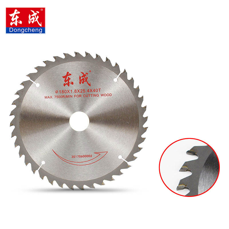 Dongcheng 4 / 5 Inch Wood Cutting Metal Circular Saw Blades For Tiles Ceramic Wood Aluminum Disc Diamond Cutting Blades