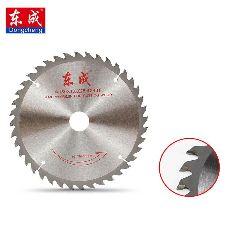Dongcheng 4 / 5 Inch Wood Cutting Metal Circular Saw Blades For Tiles Ceramic Wood Aluminum Disc Diamond Cutting Blades