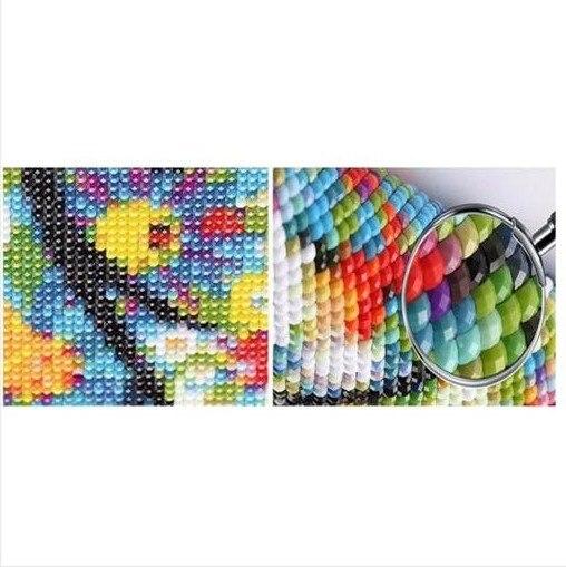 Mosaik dril Dophin Menjahit