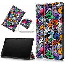 Smart Cover For samsung galaxy tab A 8.0 2019 With S Pen SM-P200 SM-P205 SM-P207 Tablet Case 8