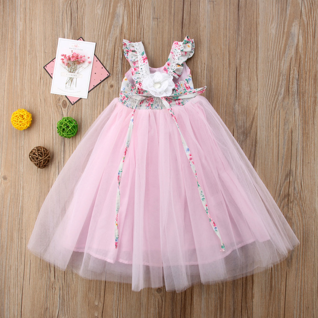 Floral Tutu Dress 4
