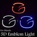 Ossen 1pcs 12v 5D Rear Emblem Light Truck Lights Badage Logo LampFor Mazda 6 Mazda 2 Mazda 3 Mazda 8 Mazda CX7 Plug&Play