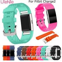 Стереоскопический силиконовый ремешок для fitbit charge 2 frontier/classic