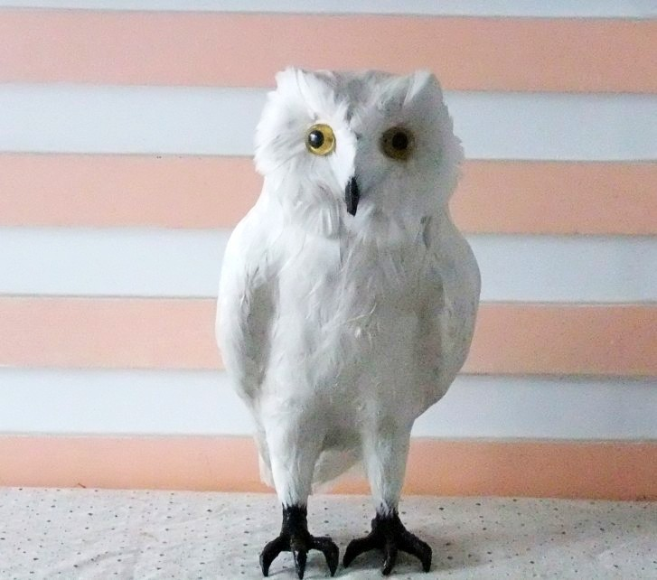 new creative simulation white owl toy lifelike white owl doll gift about 28x13x15cm big creative simulation wings swan toy lifelike white goose doll gift about 38x13 5x31cm