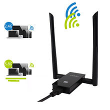 USB3.zero Twin Band 2.4GHz 5GHz Community Card 1200Mbps 802.11ac Wi-fi wifi Antenna Adapter wi-fi Quick Rransmitter Receiver