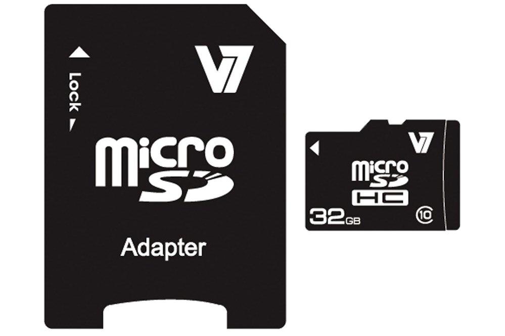 MICROSD CARD 32GB SDHC CL10 INCL SD ADAPTER RETAIL