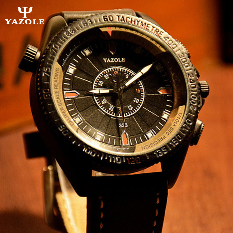 YAZOLE Mens Watches Top Brand Luxury Male Fashion