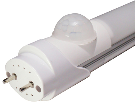PIR Infrared Motion sensor LED Tube T8 light 90-240V G13 Wall Lamp 60cm/90cm/120cm 10W/15W/20W warm/cold white fluorescent light