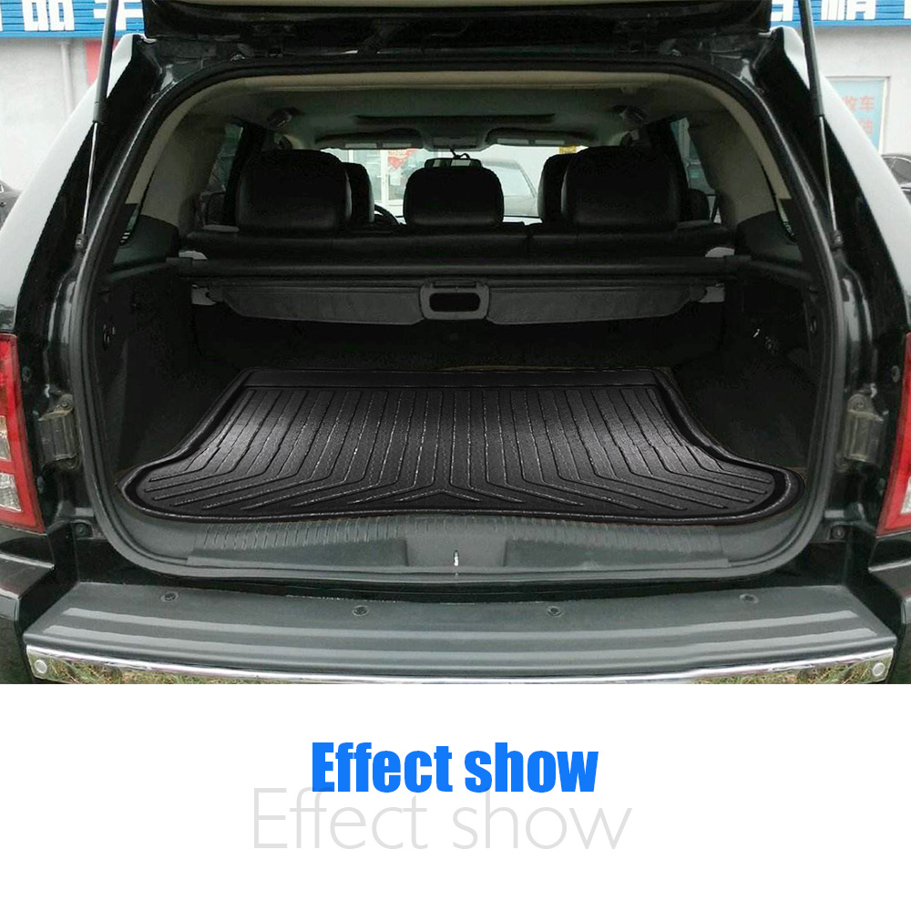Trunk Cargo Cover Floor Tray Boot Liner Pad Mat Black for ACURA RDX 2013-2018