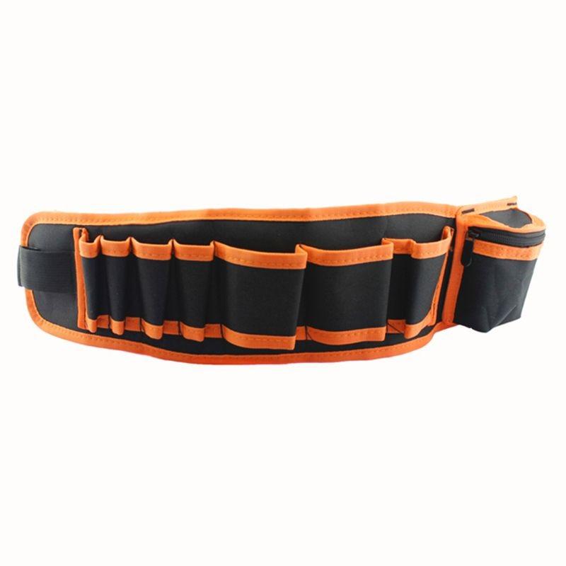 Multifunctional Nylon Tool Bag Pouch Holder Electrician Waist Pack Belt Work Case