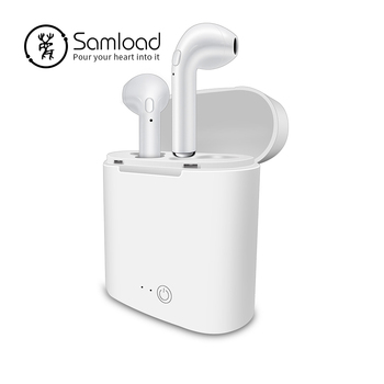 Samload i7s Wireless headphones Bluetooth earphones Air Stereo in ear Earbuds with Charging Box For Apple iPhone 6 7 Xs Pods LG