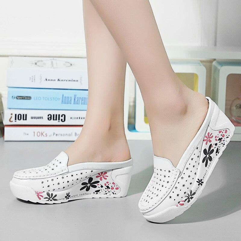Image 3 - GKTINOO Summer Woman Shoes Platform Slippers Wedges Flip Flops Women High Heel Slippers For Women Casual Sandals Female ShoesSlippers   -