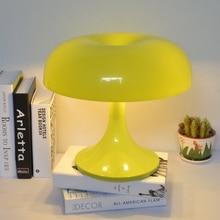 Giancarlomattioli гриб настольная лампа зеленый