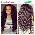 High Beauty Super Wave U Part Wig peruvian 100% Unprocessed Virgin Human Hair Wavy Middle Or Side Part Upart Wig For Black Women