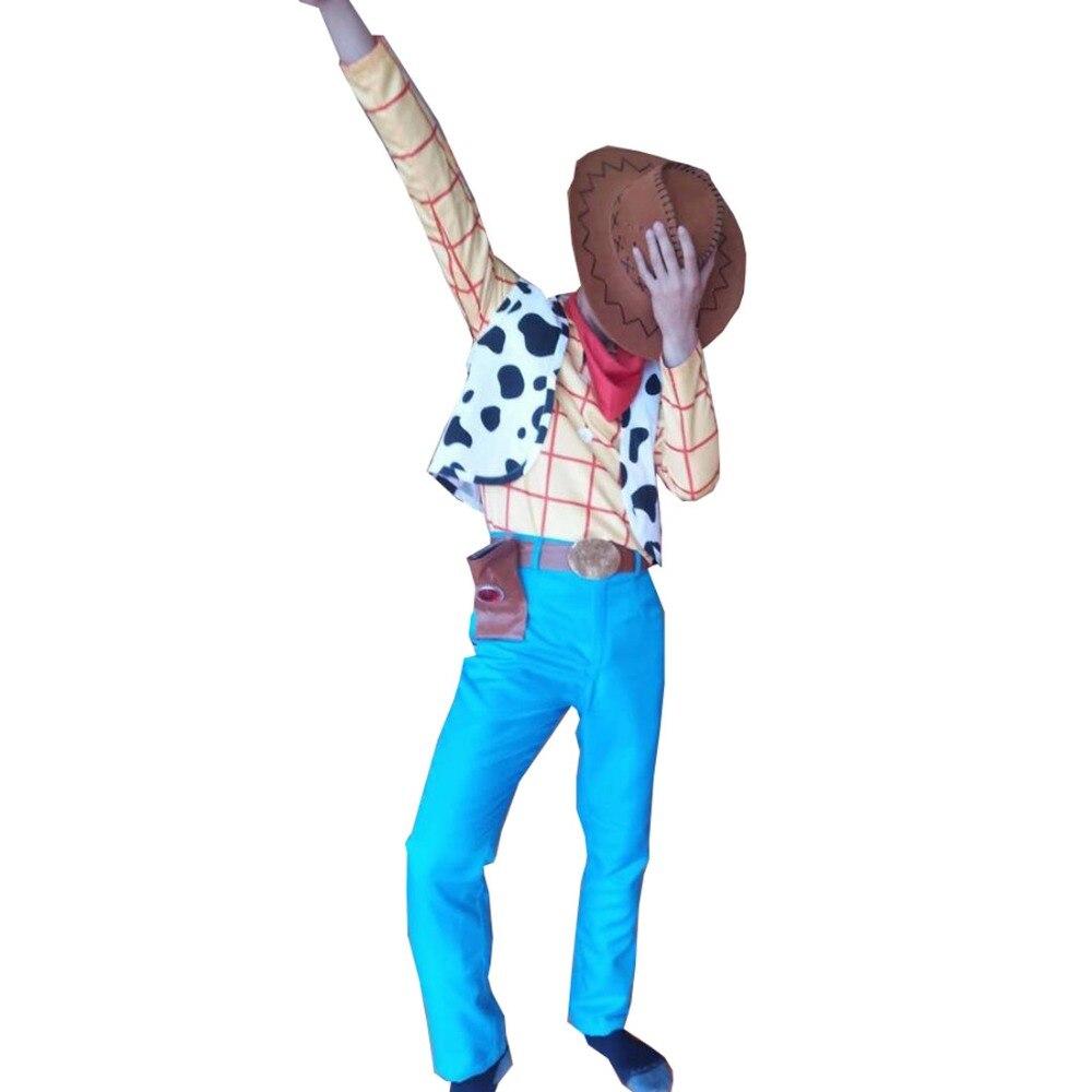 2018 Halloween jouet histoire boisé Costume boisé jeu de rôle Cowboy Costume fantaisie robe Cosplay chiffons