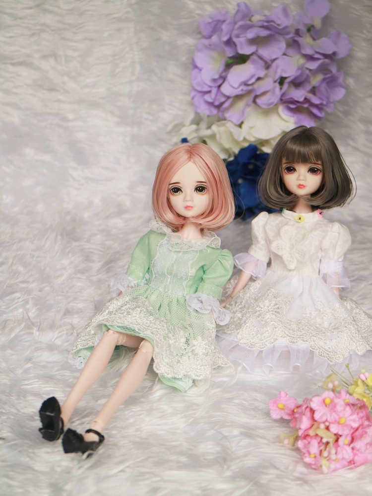 Blyth bjd 30 см Дешевые 1/6 кукла модная модель diy игрушка высокая девочка подарок кукла с одеждой макияж обувь парики тела голова bjd кукла