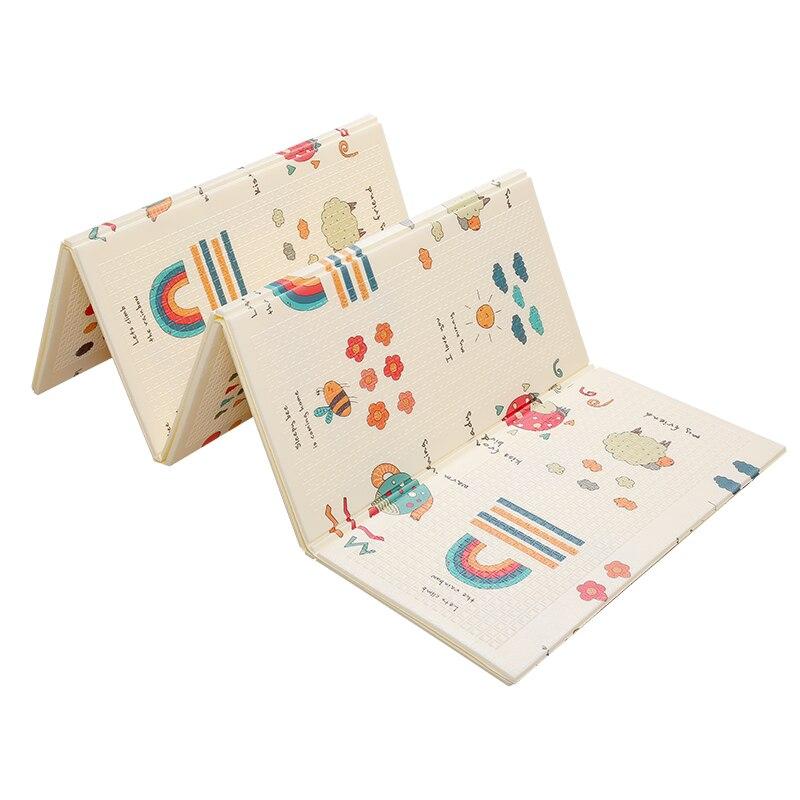 Baby Crawling Mat Portable Foldable Baby Climbing Mats Foam Mat XPE Environmental Protection Tasteless Living Room Game Blanket